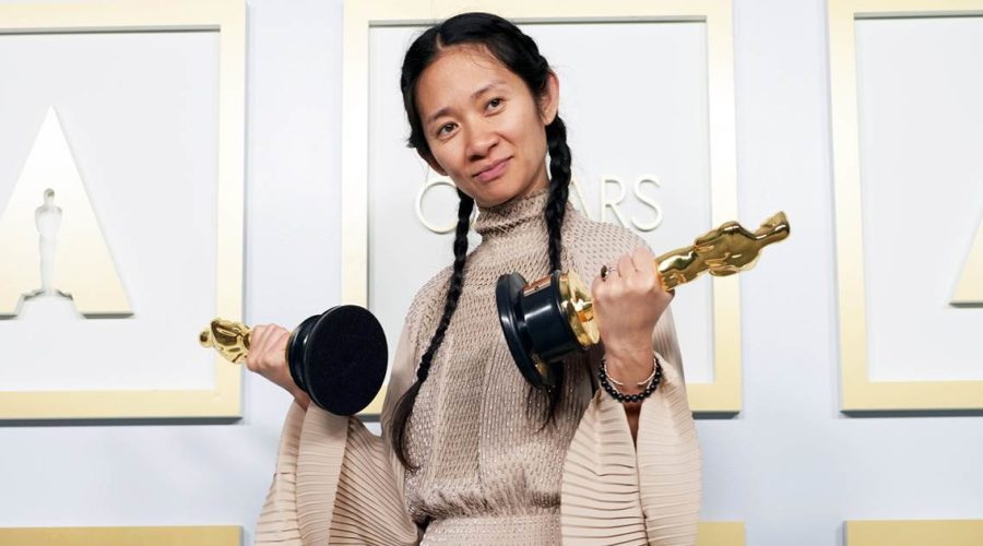 China celebrates Chloe Zhao and 'Nomadland' victories - unofficially