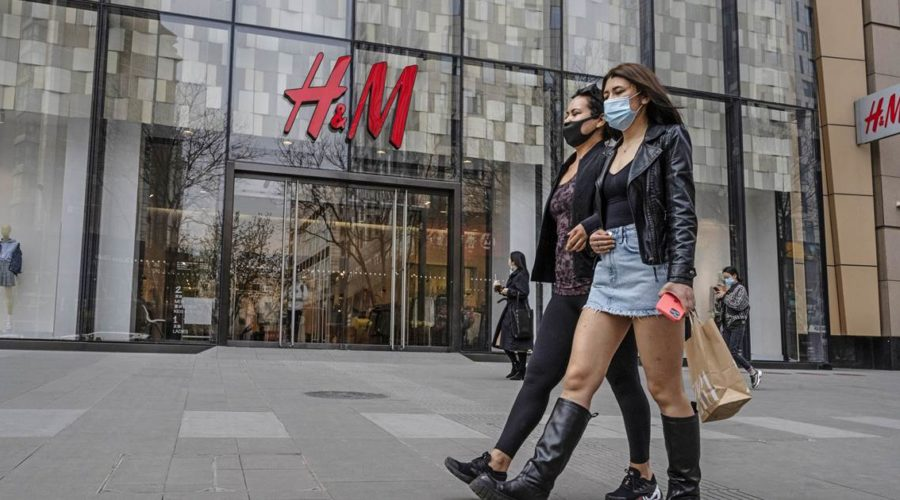 Western brands tested by China in reaction to forced labor allegation