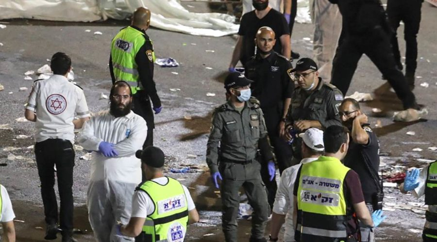 Dozens dead in stampede at religious rally in Israel
