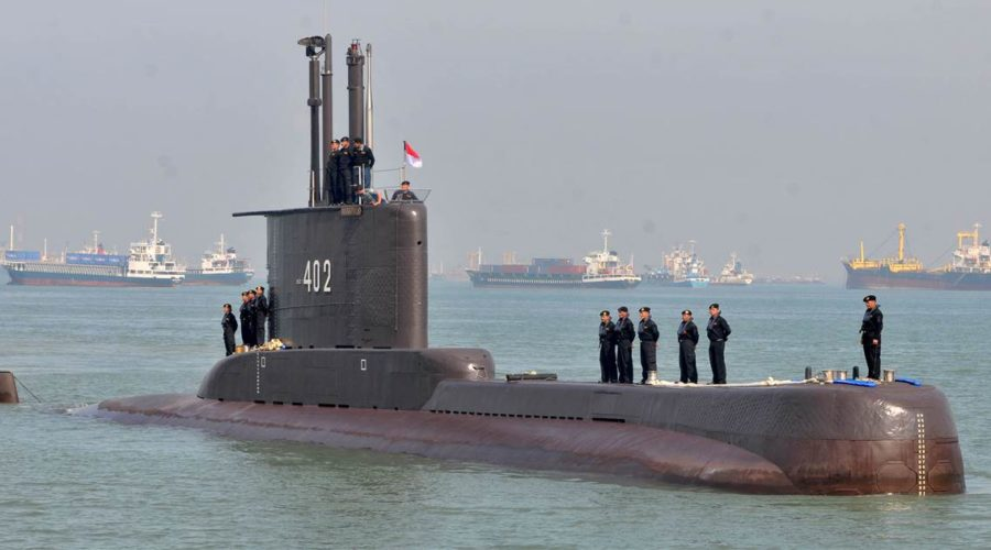Missing Indonesian submarine found smashed into at least 3 parts