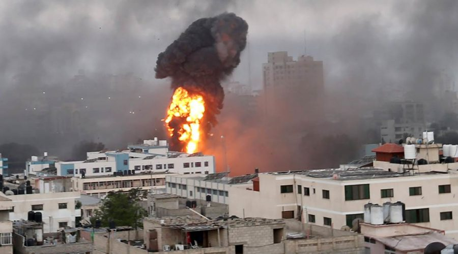 Death toll rises to at least 40 as violence escalates between Israel and Hamas