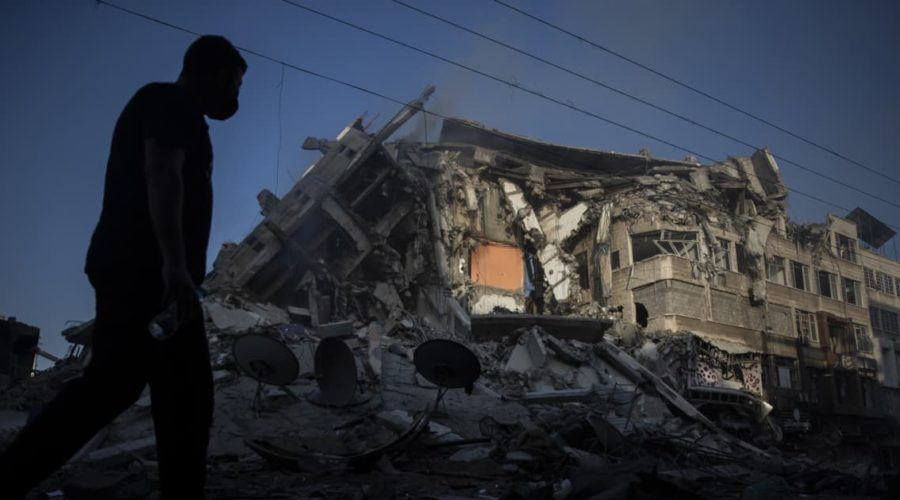 Israeli ground forces join attacks on Gaza as conflict escalates