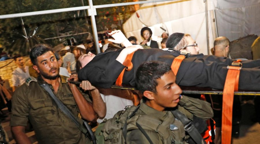 At least 2 dead, more than 150 injured in collapse of structure in West Bank synagogue