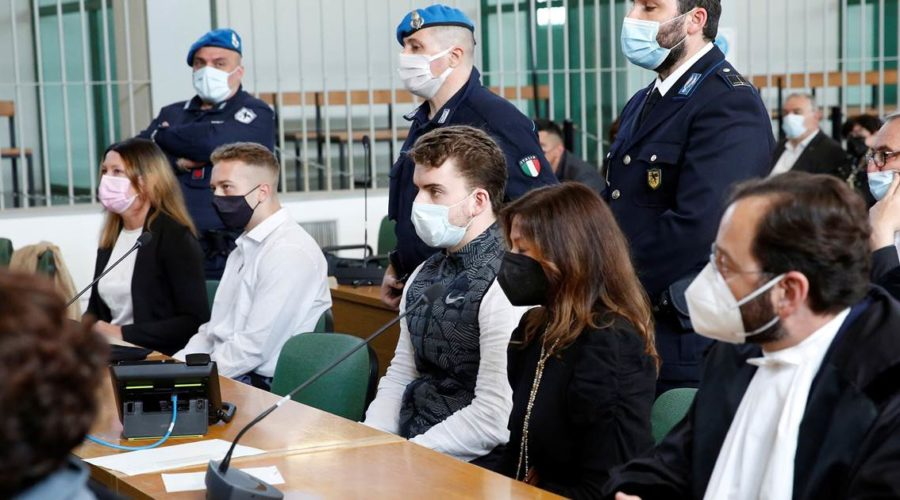American students convicted of death of Italian policeman