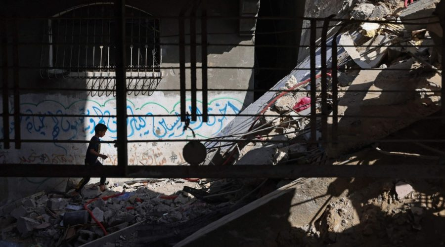 As bombs fall silent on Gaza and Israel, 'whole generation' of children face long-term trauma