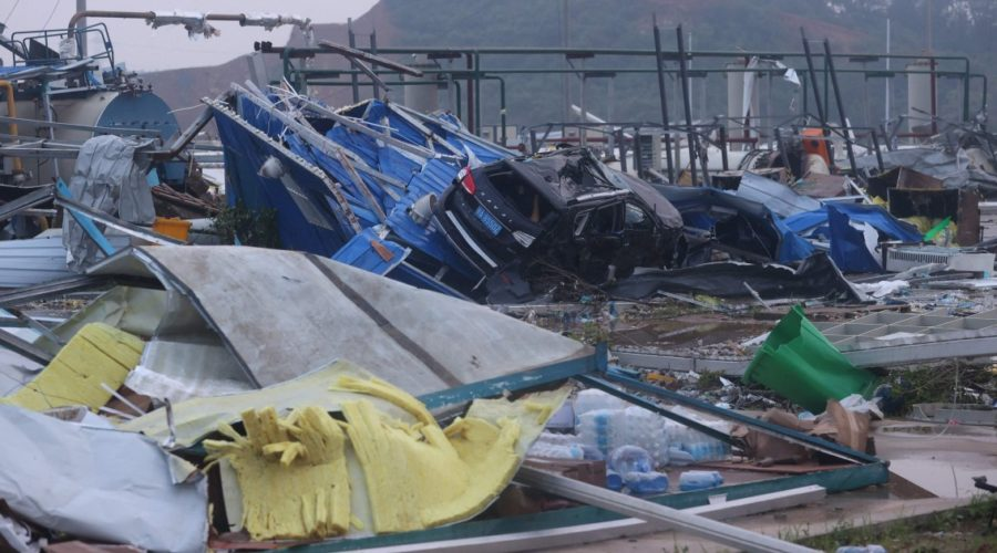 At least 12 dead as tornadoes cross two Chinese provinces