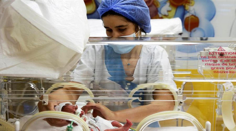 Malian woman expecting 7 babies gives birth to 9
