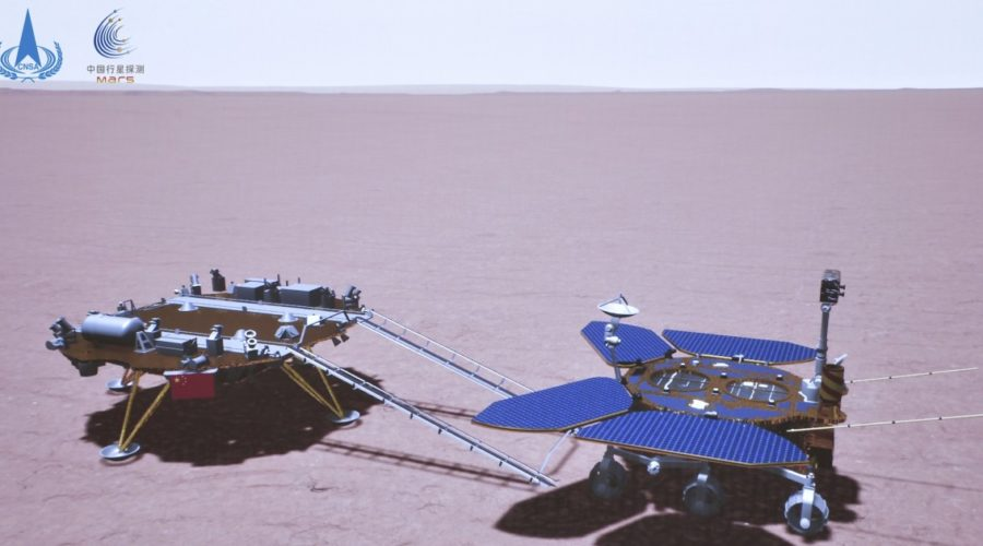 Martian rover Zhurong makes first test on the surface of Mars, says China