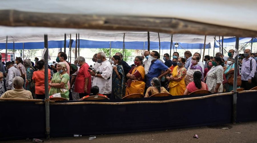 Mumbai Shuts Covid Vaccination Centers As Indian Health Services Fold