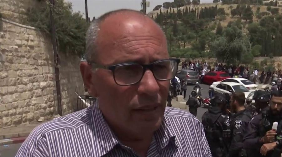Palestinian activist says group feels 'humiliated' and under 'oppression'