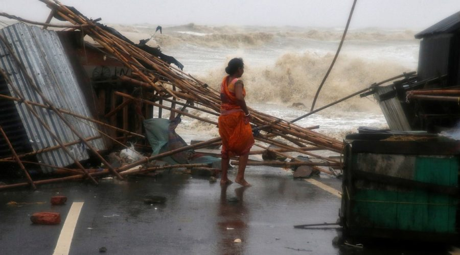 Powerful Cyclone Yaas hits eastern India, forcing more than one million to evacuate