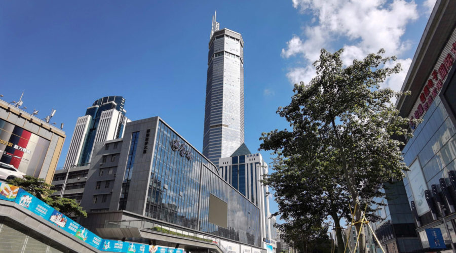 Shaking SEG Plaza skyscraper to stay closed as China probes what made it tip over