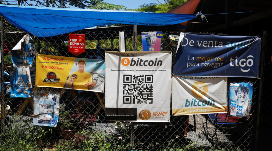 El Salvador gives legal tender to bitcoin in world first