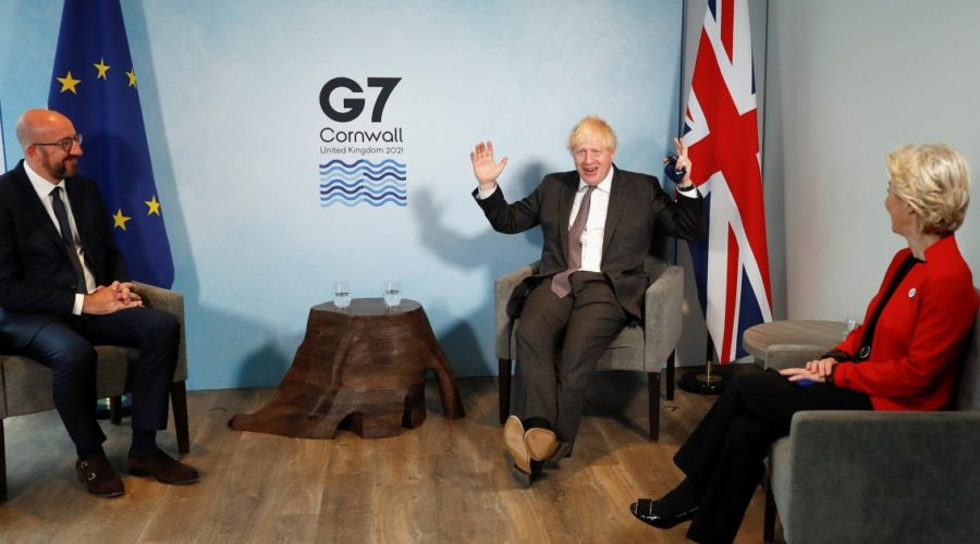 Not on the agenda, but Brexit threatens unity at the G-7 summit