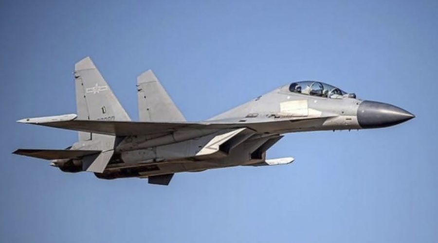 Taiwan reports biggest incursion ever by Chinese air force