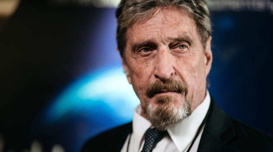John McAfee commits suicide hours after Spanish court authorized his extradition to the United States
