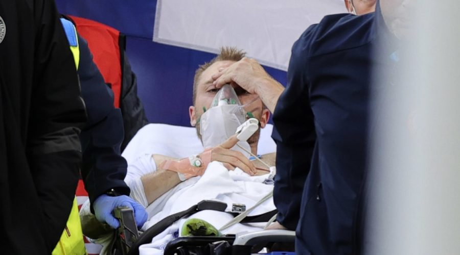 Danish footballer Christian Eriksen 'stable' after collapsing on the pitch