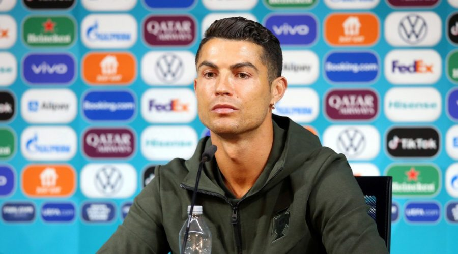 Drink makers laughed at football stars Ronaldo and Pogba for snubbing the drinks