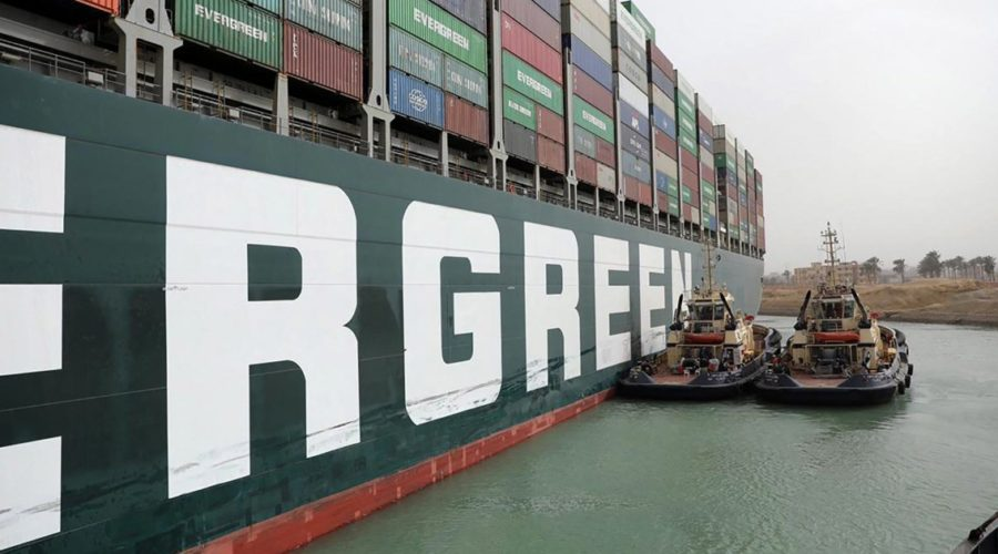 First agreement reached in the dispute over the cargo ship Ever Given that blocked the Suez Canal