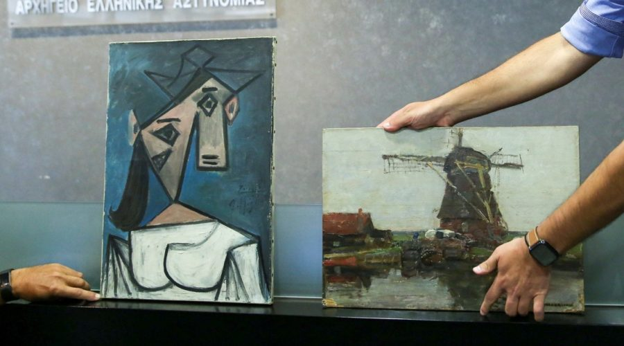 Greece recovers Picasso and Mondrian paintings stolen from gallery in 2012
