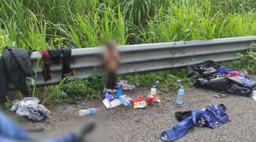In Mexico, authorities find abandoned 2-year-old boy near truck carrying migrants