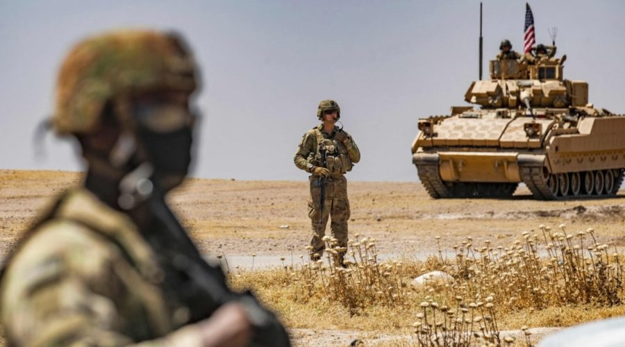 US forces in Syria under fire after US airstrikes on Iran-backed militias