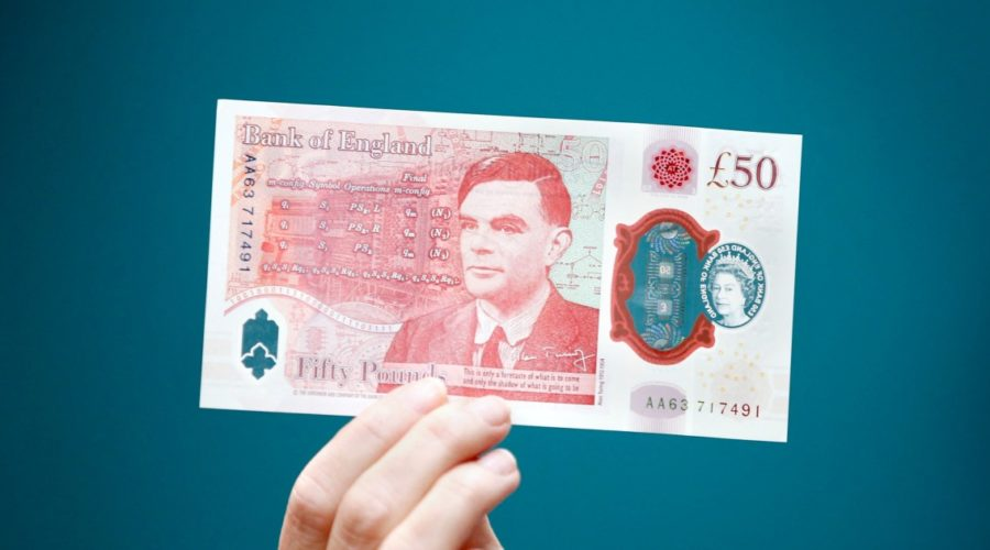 WWII code cracker Alan Turing becomes the first gay on a British banknote