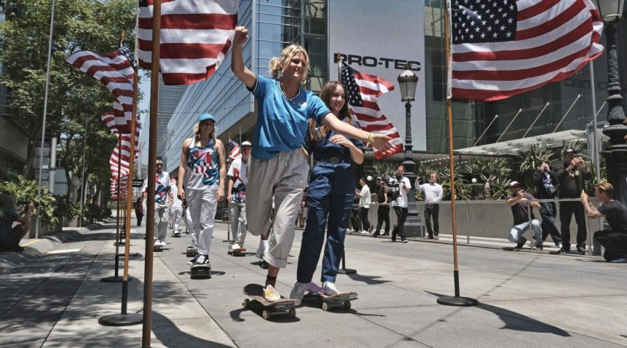 Skateboarding as an Olympic sport even has some members of the U.S. team feeling conflicted.