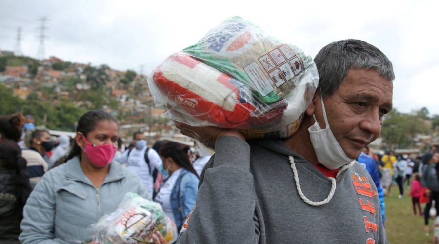Global hunger dramatically worsened during the year of the pandemic