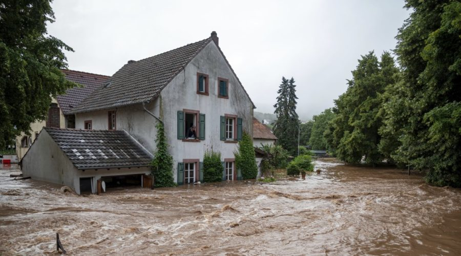 7 dead, many missing in Germany as houses collapse in floods