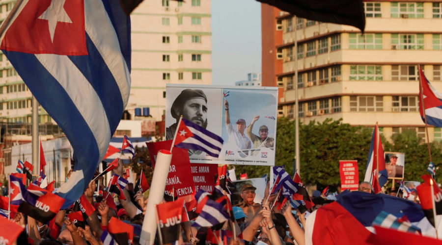 Cuban opposition websites emboldened by protests shake government