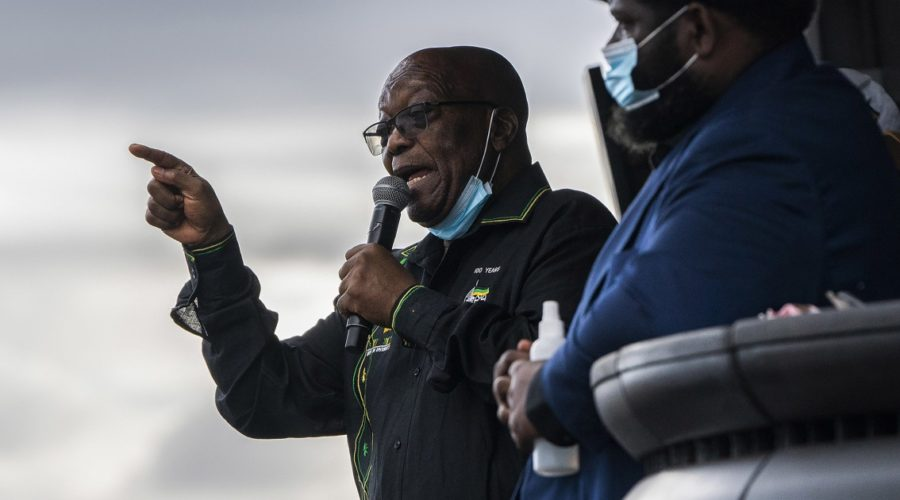 Former South African President Zuma compares judges to apartheid rulers