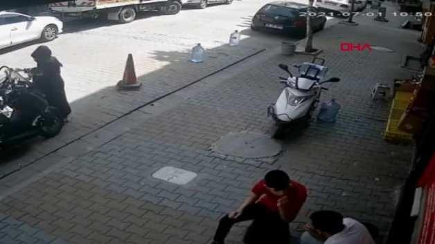 He dropped his baby on the road and realized it when he stepped on it! These moments are filmed