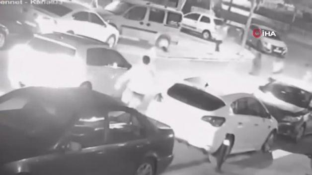 He was hit by a car while trying to cross the road! Catastrophic accident on camera