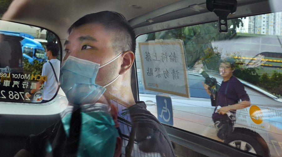 Hong Kong protester sentenced to 9 years in first national security case