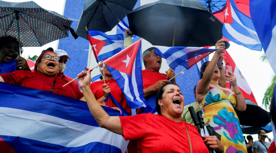 In protests and on social media, calls multiply against detentions and arrests by the Cuban government