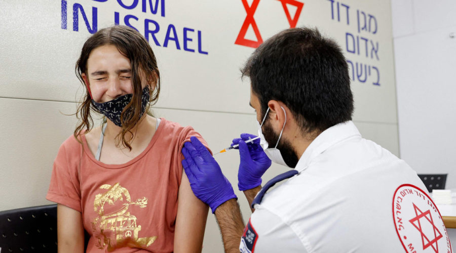 Israel sees drop in Pfizer Covid vaccine protection, still strong in severe illness