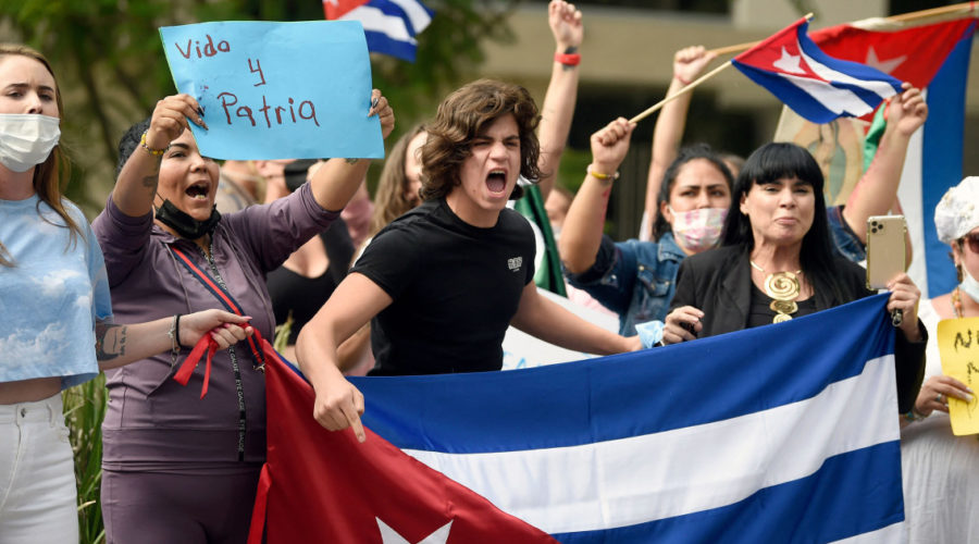Latin America's response to protests in Cuba divided along ideological and political lines