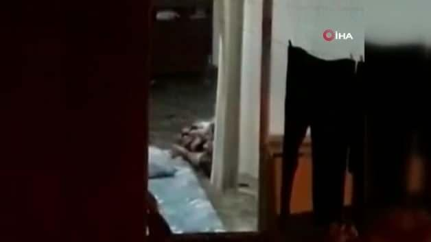 Moments of violence against disabled children in Istanbul ... The neighbors recorded the heartbreaking images!