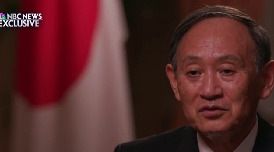 One-on-one with the Japanese Prime Minister ahead of the Tokyo Olympics