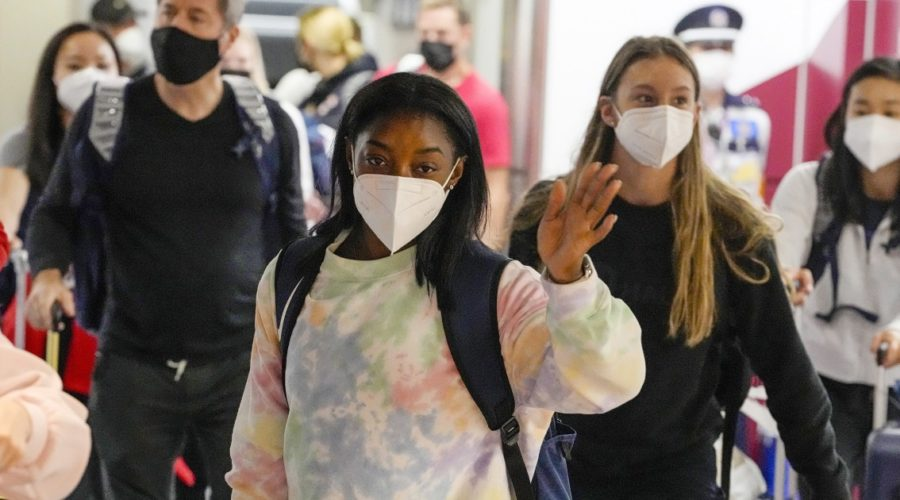Simone Biles and the rest of the US women's gymnastics team skip the Olympic Village