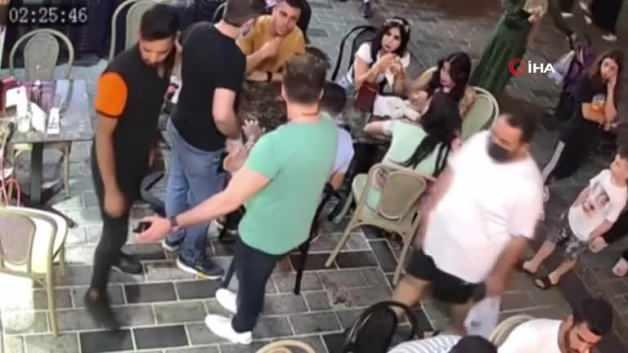 They took a beating! Kick fight on camera