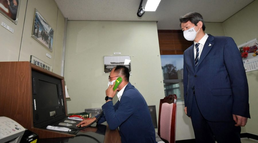 Two Koreas restore channels of communication and agree to improve relations