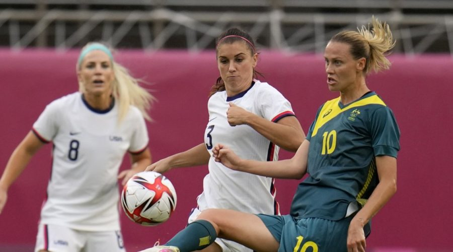 USWNT binds with Australia and qualifies for knockouts