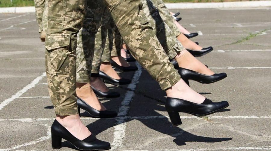 Ukraine's plan for female cadets to parade in high heels sparks outrage