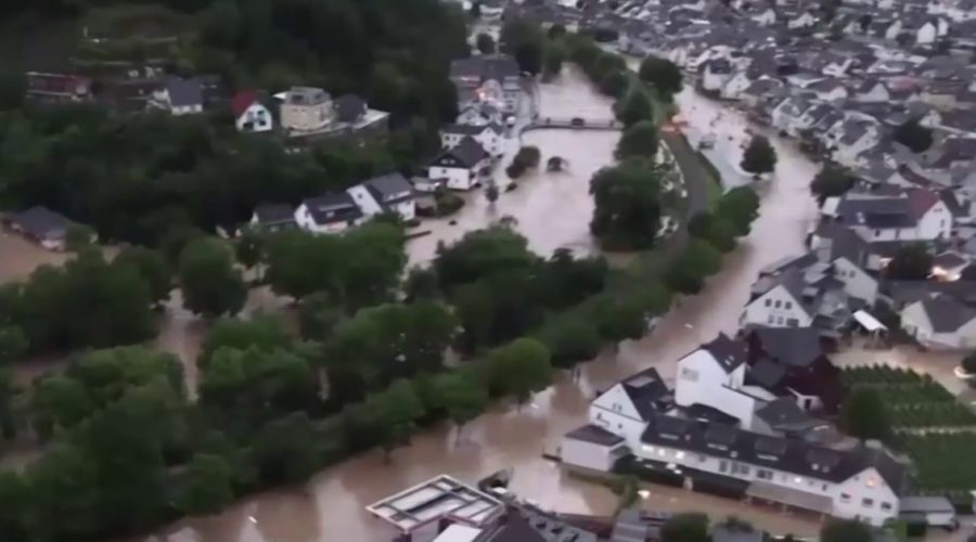 Western Europe sees severe flash flooding killing dozens in Germany